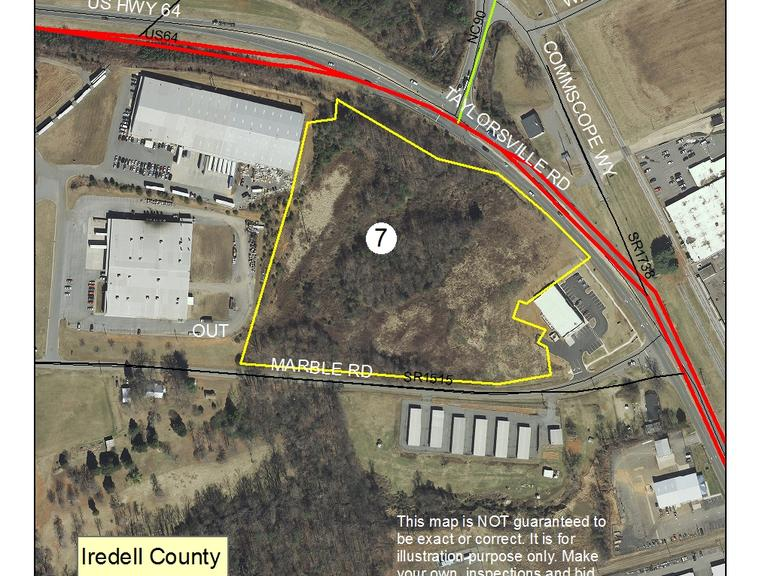 11.47 +/- Acres Located Along US HWY 64 West & Marble Rd, Statesville, NC
