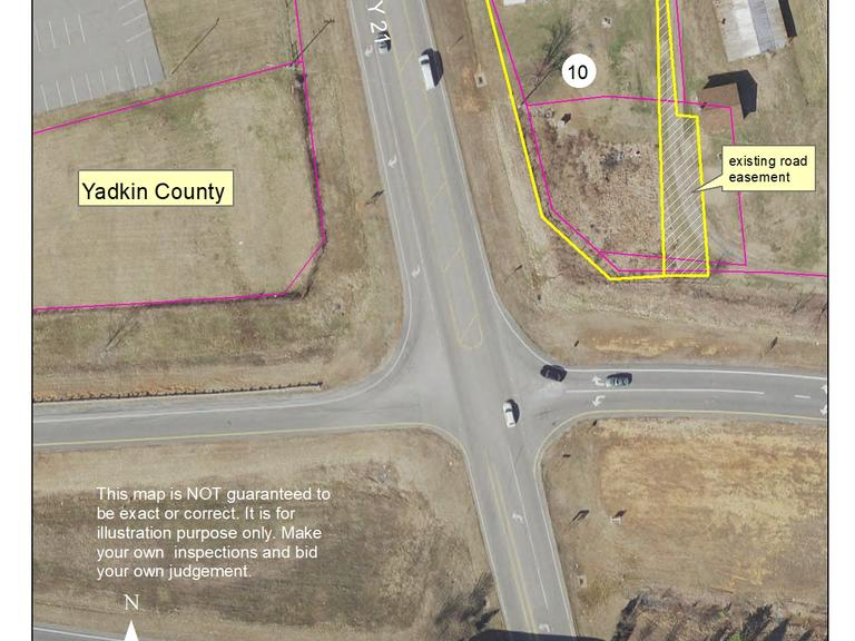 .6 +/- Acre Commercial Lot Located along US HWY 421 & US HWY 21, Yadkin County, NC