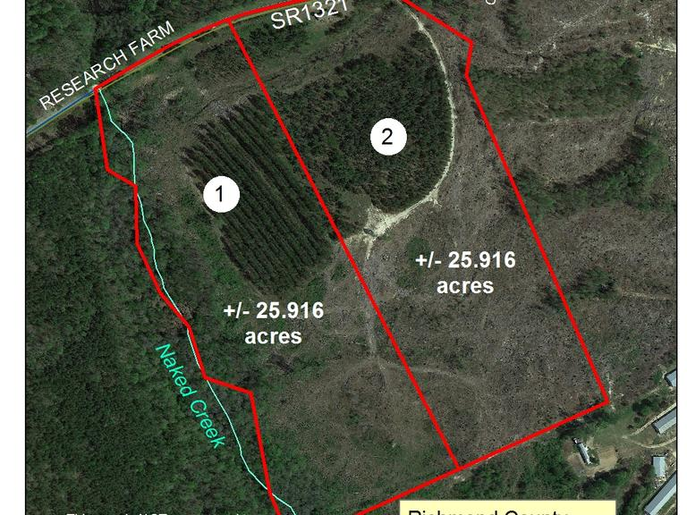 25.916+/- Acres and on Research Farm Road