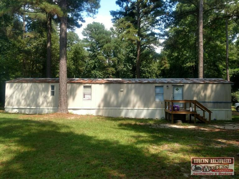 2.23+/- Acres and Manufactured Home at 1001 Hamer Mill Road in Rockingham, NC