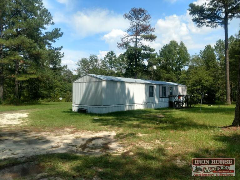 5.67+/- Acres w/ Manufactured Home Located at 357 Hamer Mill Road in Rockingham, NC