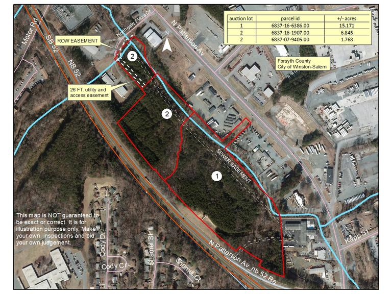 High Traffic Opportunity Zone Commercial Property Located in Winston-Salem, NC