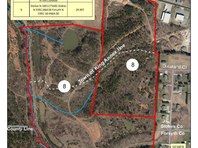 48.264+/- Acres on Newsome Road in Stokes County