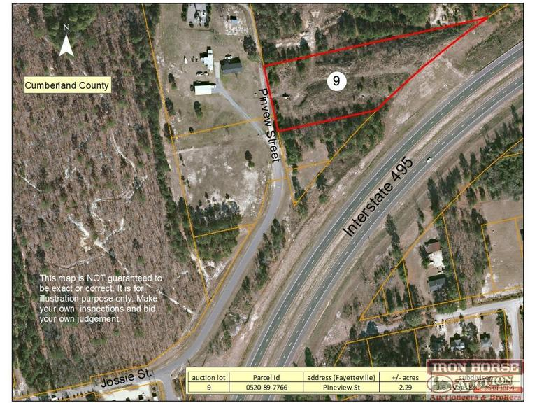 2.29+/- Acres Located on Pineview Street in Fayetteville, NC