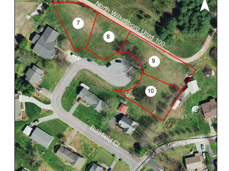 .21 +/- Acre Residential Lot on Blairfield Court, North Wilkesboro, NC