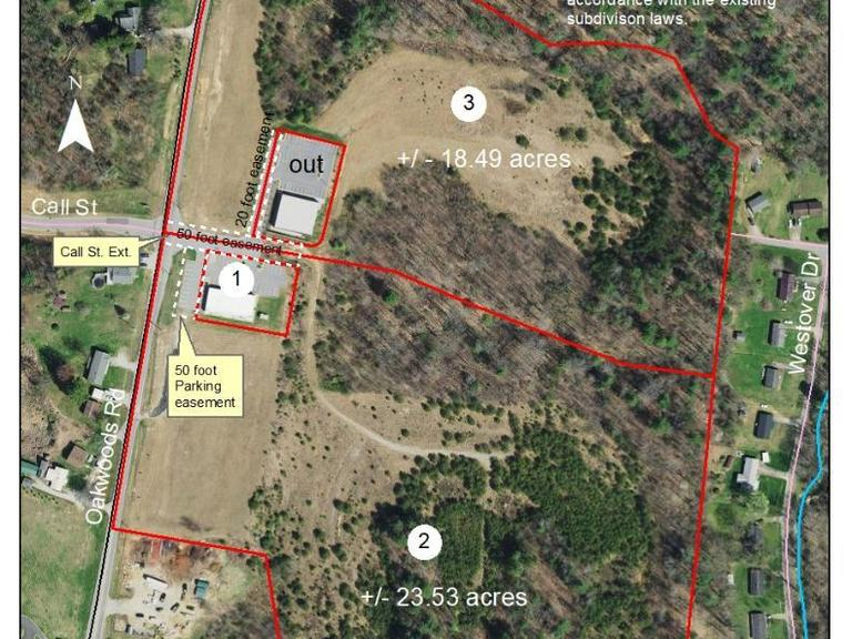 18.49+/- Acres located on Oakwood Road/Call Street Ext. in Wilkesboro, NC