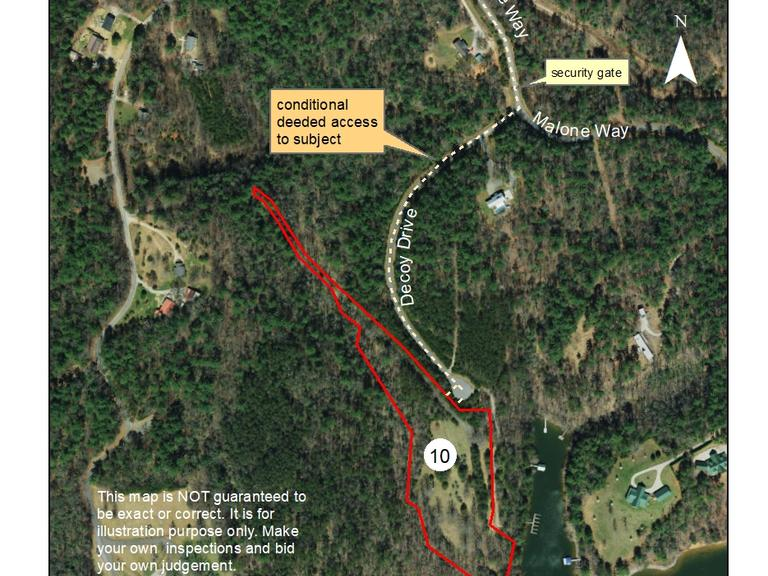 6.03+/- Acres located on South Minton Road with frontage on W. Kerr Scott Reservoir in Wilkes County