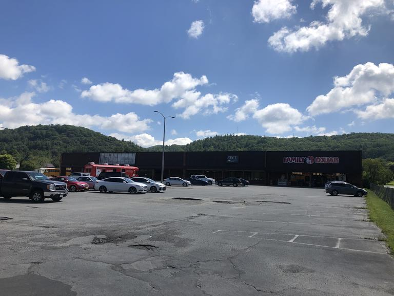 Commercial Shopping Center located at 211 River Street in Newland, NC